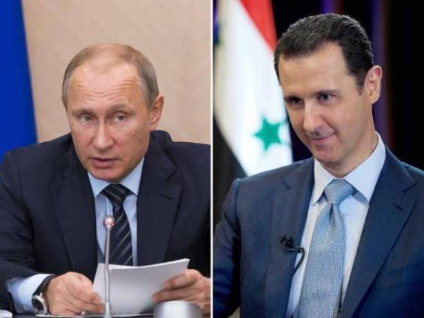 نامه پوتین به بشار اسد